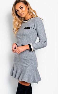 View the Holly Knitted Flare Dress online at iKrush