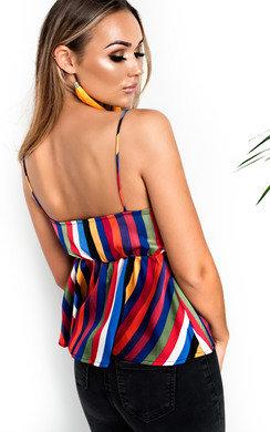 View the Indigo Silky Cami Top online at iKrush