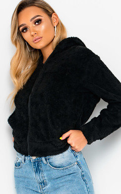 View the Iris Faux Fur Bunny Ear Jumper online at iKrush
