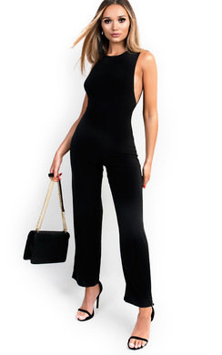 View the Izabella Slinky Sleeveless Scoop Jumpsuit online at iKrush