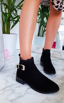 View the Izzy Studded Ankle Boots online at iKrush