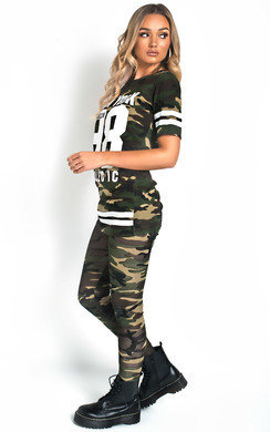 View the Jamie Camo Lounge Co-ord online at iKrush