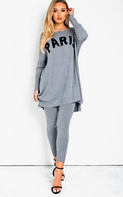 View the Jane Slogan Lounge Co-ord online at iKrush