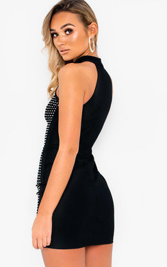 View the Jarah Stud Embellished Dress online at iKrush