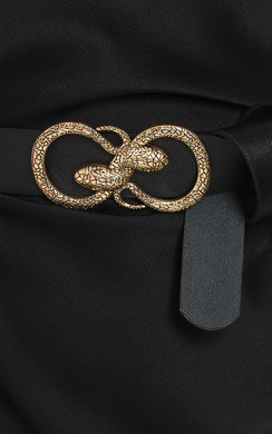 View the Jasmen Snake Buckle Belt online at iKrush