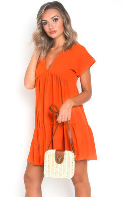 View the Jemma Layered Shift Dress online at iKrush