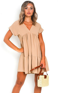 View the Jemma Layered Shift Dress online at iKrush