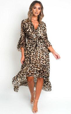 View the Jenni Printed Maxi Dress online at iKrush