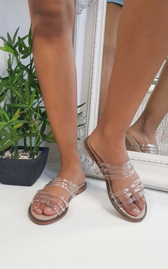 View the Jenni Strappy Jelly Sandals online at iKrush