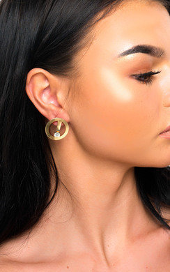 View the Jess Small Hoop Earrings  online at iKrush