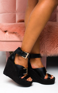 View the Jesse Buckle Wedges online at iKrush