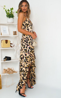 View the Jessica Printed Maxi Dress online at iKrush