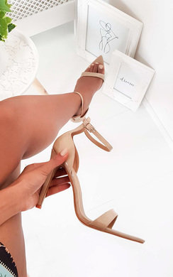 View the Joss Pointed Barely There Heels online at iKrush