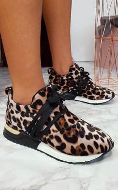 View the Kady Leopard Trainers  online at iKrush