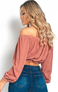View the Kandice Off Shoulder Corset Top online at iKrush