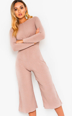 View the Kansas Knot Front Wide Leg Jumpsuit online at iKrush