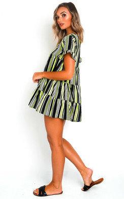 View the Karla Frill Shift Dress online at iKrush