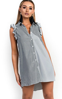 View the Katie Frill Shirt Dress online at iKrush