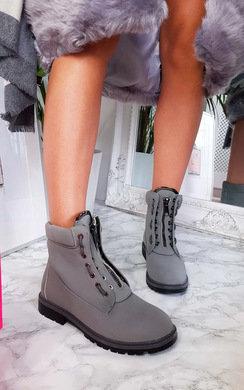 View the Keegan Zip Up Biker Boots online at iKrush