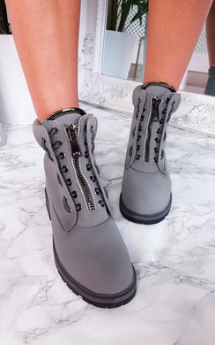 View the Keegan Zip Up Biker Boots online at iKrush