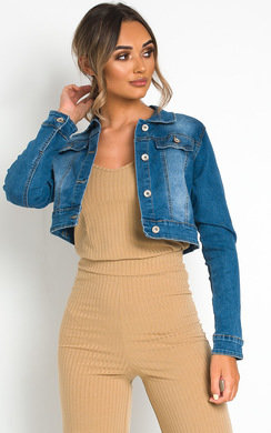 View the Keira Denim Jacket online at iKrush