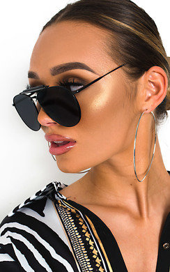 View the Kelly Aviator Sunglasses online at iKrush