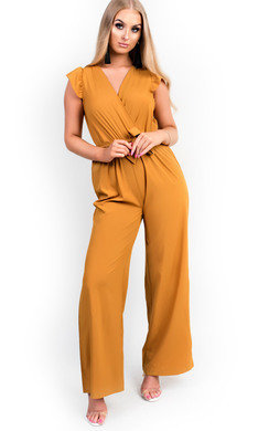 View the Kerry Belted Wide Leg  Jumpsuit online at iKrush