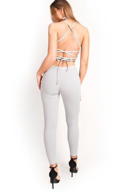 View the Kharlie Frill Crossover Cropped Co-ord online at iKrush