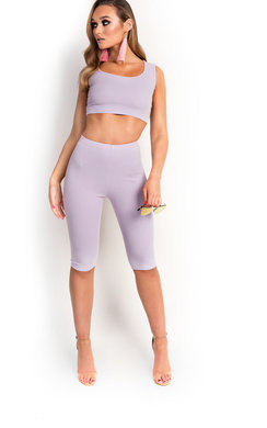 View the Kimey Pedal Short Stretch Co-ord  online at iKrush