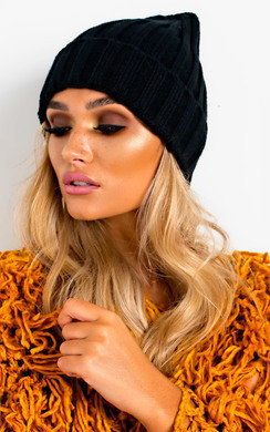 View the Kirsti Woven Knitted Beanie Hat online at iKrush