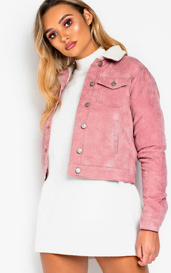 View the Kirsty Faux Fur Collared Cuord Jacket online at iKrush