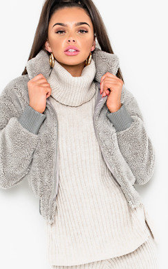 View the Kloe Teddy Bear Jacket online at iKrush
