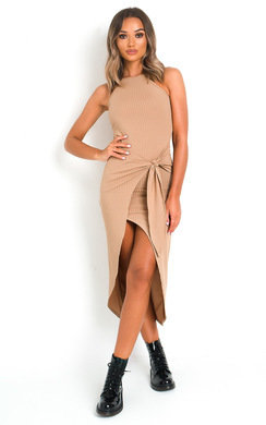 View the Kori Bodycon Midi Dress online at iKrush