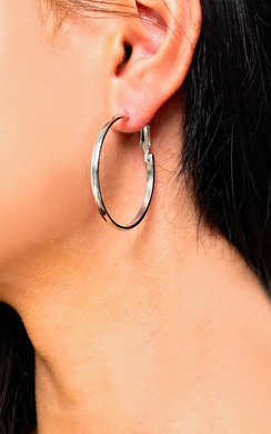 View the Kyle Hoop Earrings online at iKrush
