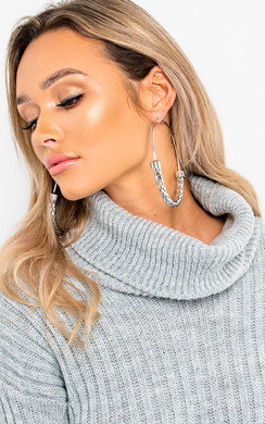 View the Kylie Large Hoop Earrings online at iKrush