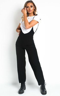 View the Lala Pinafore Jumpsuit online at iKrush