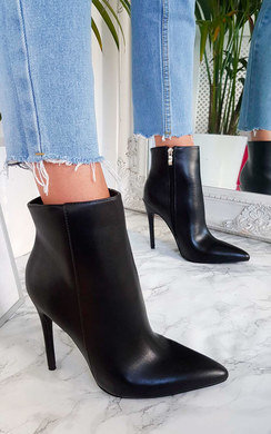 View the Lala Point Heeled Ankle Boots online at iKrush