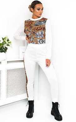 View the Lalla Animal Print Lounge Co-ord online at iKrush