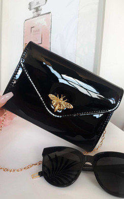 View the Lara Bee Embellished Envelope Clutch Bag online at iKrush