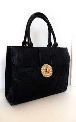 View the Layla Diamante Embellished Handbag online at iKrush