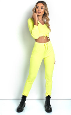 View the Layla Ribbed Lounge Co-ord online at iKrush