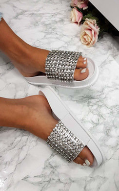 View the Leah Embellished Sliders online at iKrush