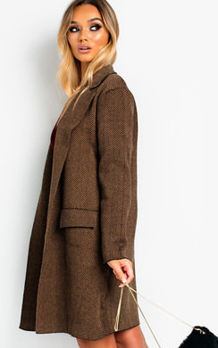 View the Leanne Patterned Coat online at iKrush