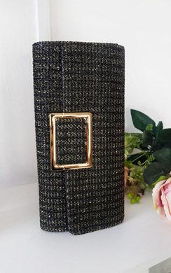 View the Leoni Raffia Clutch Bag online at iKrush