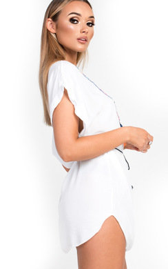 View the Libby Tassel Shift Dress online at iKrush