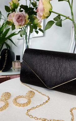 View the Lills Glitter Envelope Clasp Clutch Bag online at iKrush