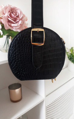 View the Lima Round Box Handbag online at iKrush