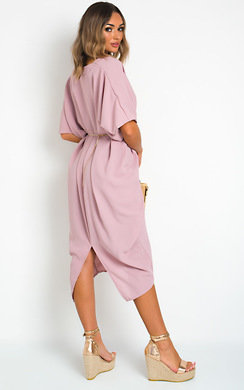 View the Lina Batwing Maxi Dress online at iKrush