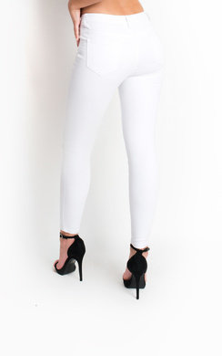 View the Liya Ripped Embellished Skinny Jeans online at iKrush