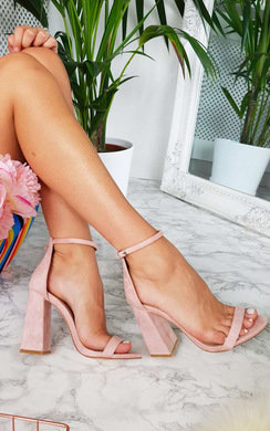 View the Lola Barely There Block Heels online at iKrush